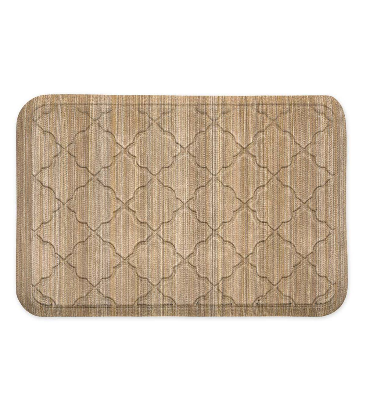 "Anti Fatigue Comfort Mat, 22""x 60"" - Beige Stripe"