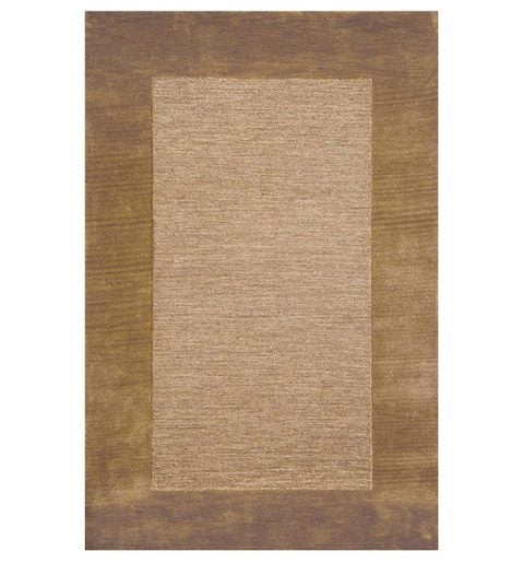 2' x 4' Madrid Banded Rectangular Hearth Rug