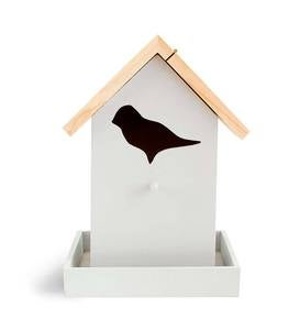 Aviator Bird Feeder With Bird Silhouette Cut Out