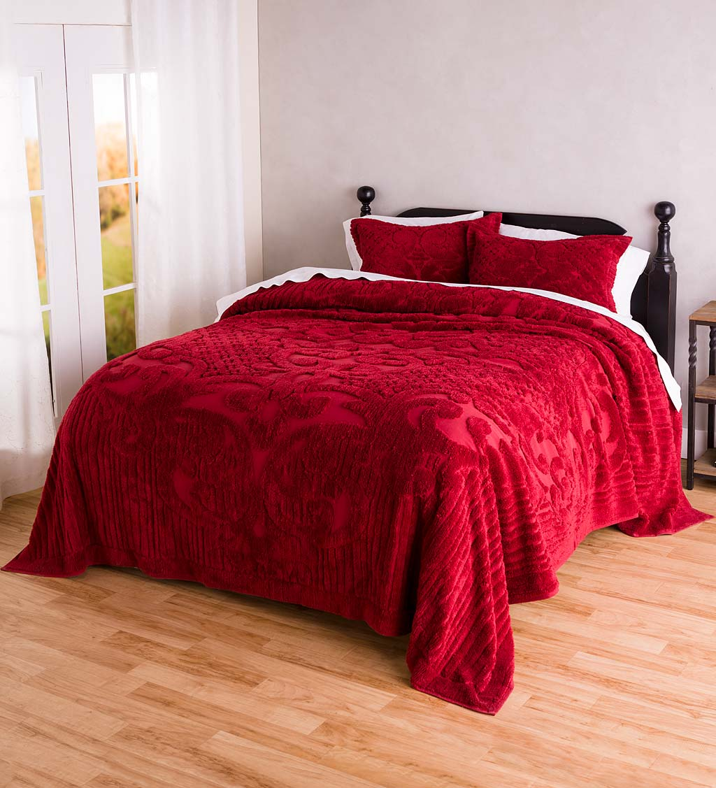 Juliet Tufted Cotton Chenille Bedding