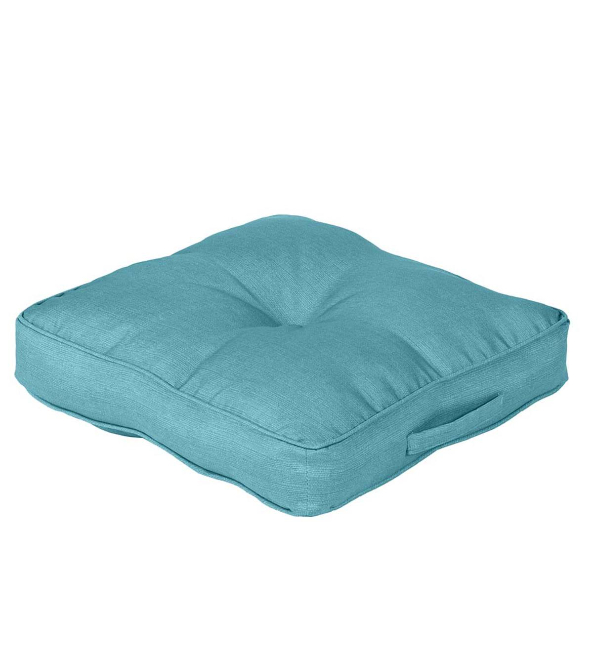 Shenandoah Outdoor Tufted Floor Cushion