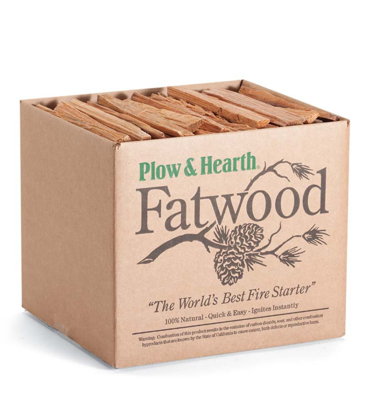 Fatwood Fire-Starter, 10 lb. Box