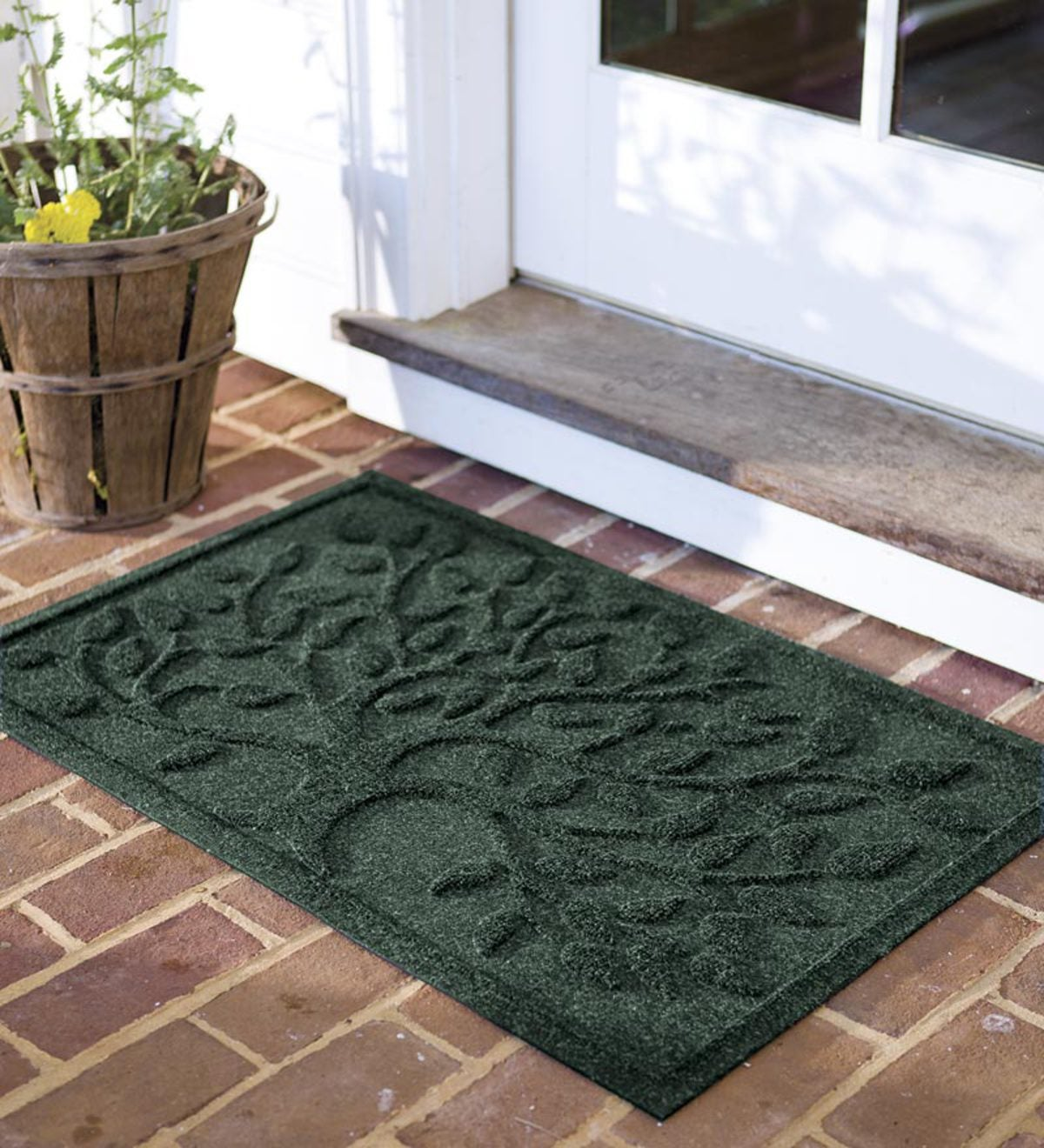 35 W X 58 L Tree Of Life Waterhog Doormat Large