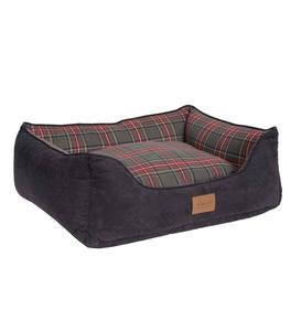 Pendleton Kuddler Pet Bed in Grey Stewart Plaid
