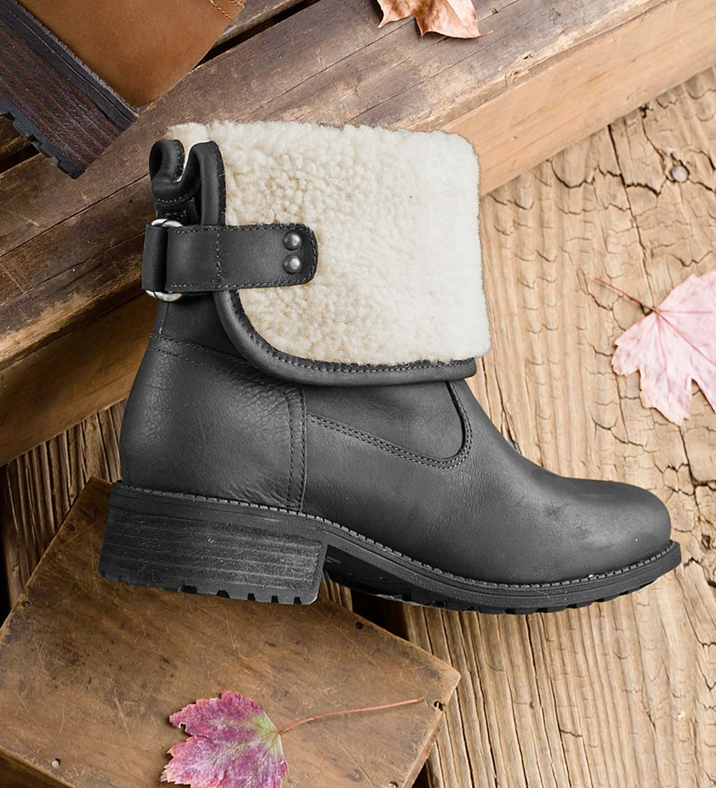 UGG Aldon Boots with Buckle