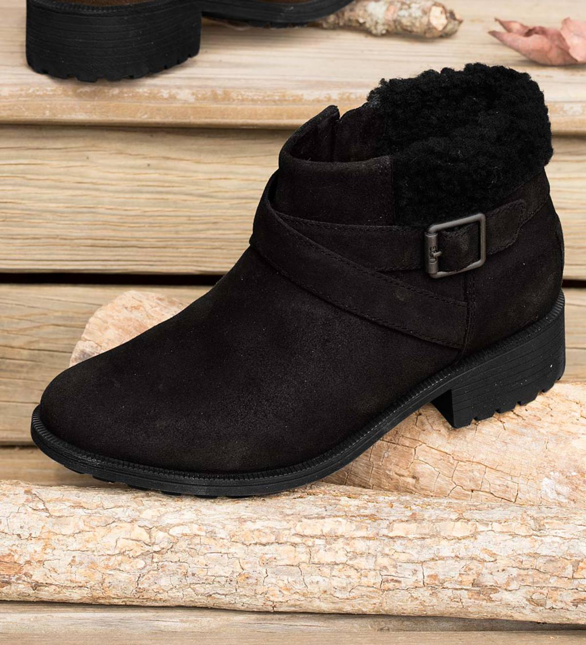 UGG Benson Boot - Black - Size 6
