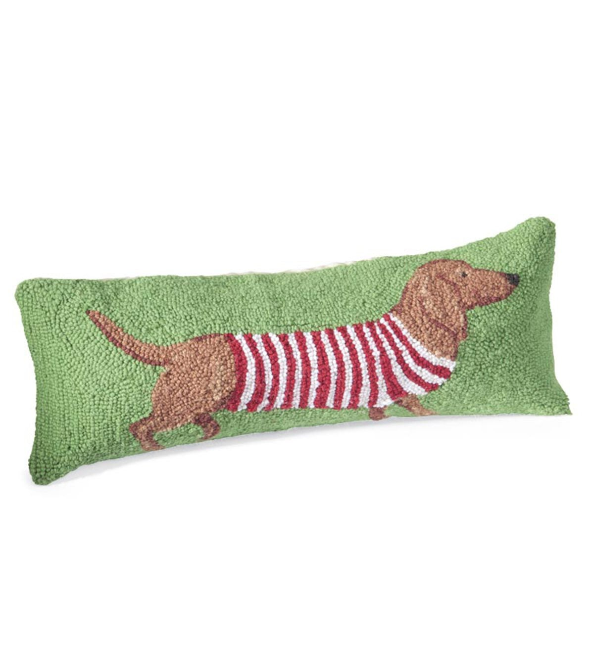 Sale! Hand-Hooked Wool Holiday Dog Pillows