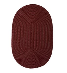 "15""sq. Oval Chair Pad - Burgundy"