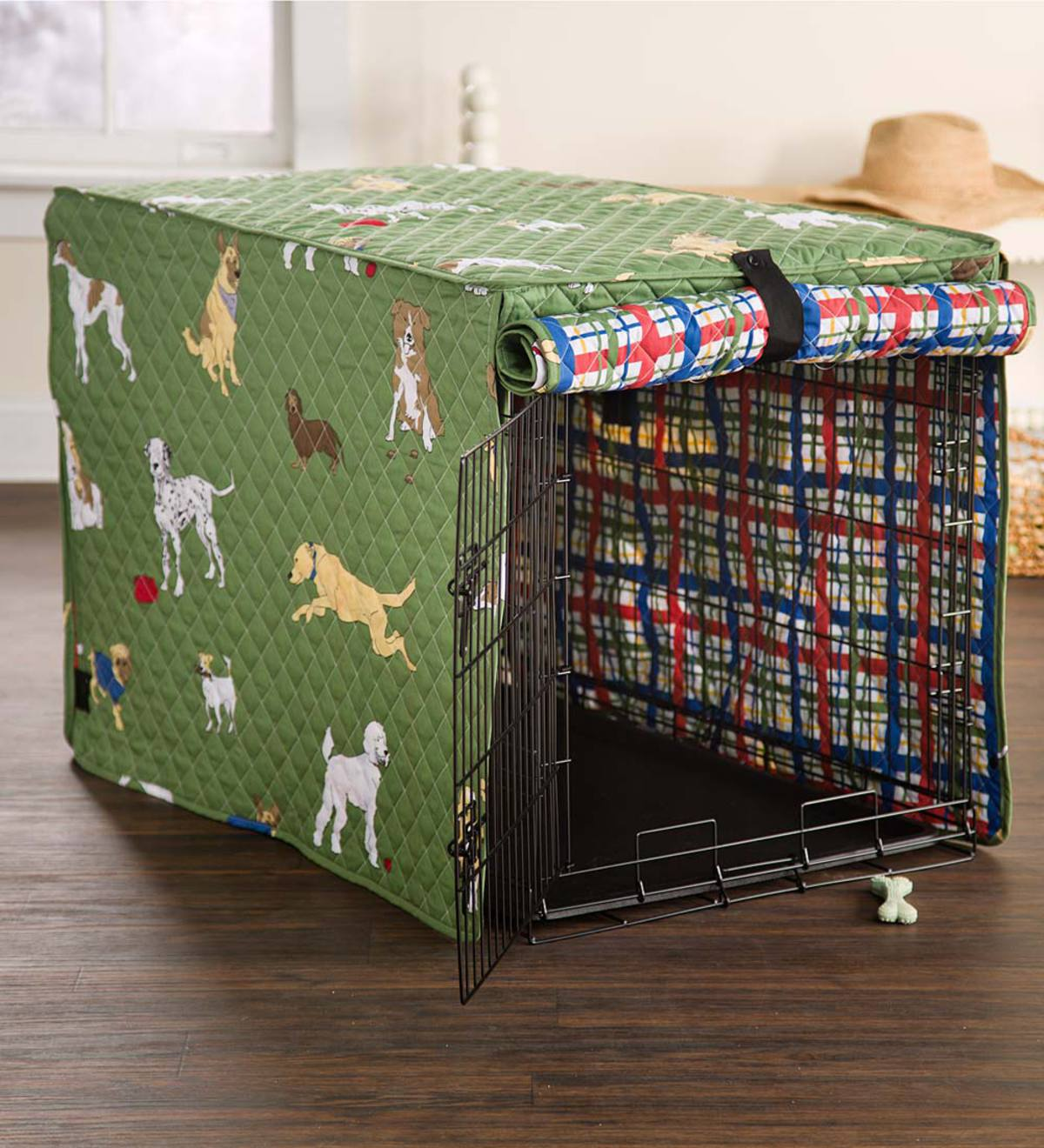 Bedtime Tails Dog Crate Cover, Extra Large