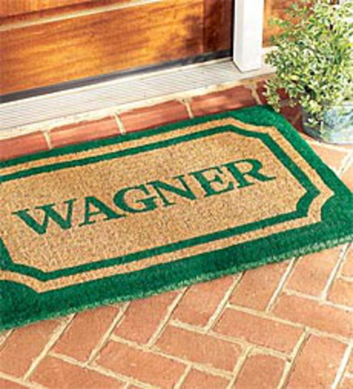 "24""x 39""Personalized Doormat"