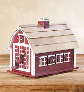 Pine Wood Barn Advent Calendar