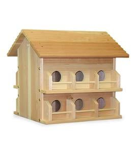 Cedar Purple Martin Birdhouse