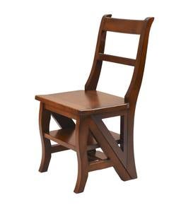 Reproduction Parawood Ben Franklin Convertible Ladder Chair