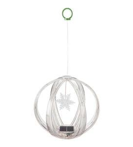 Solar Color Chasing Lighted Sphere Mobile