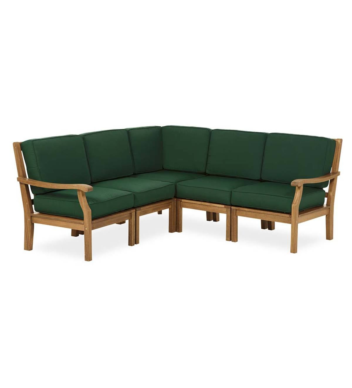 Claremont 5-Piece Sectional with Cushions