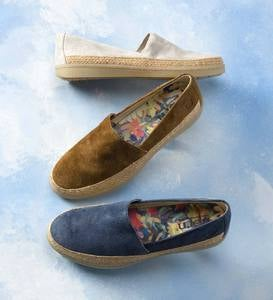 Born Castries Suede Slip-On Sneaker