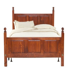 Solid Pine Huntington Panel Bed, Made in USA