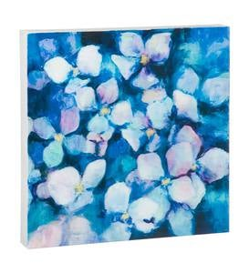Midnight Blue Flat Metal Wall Art