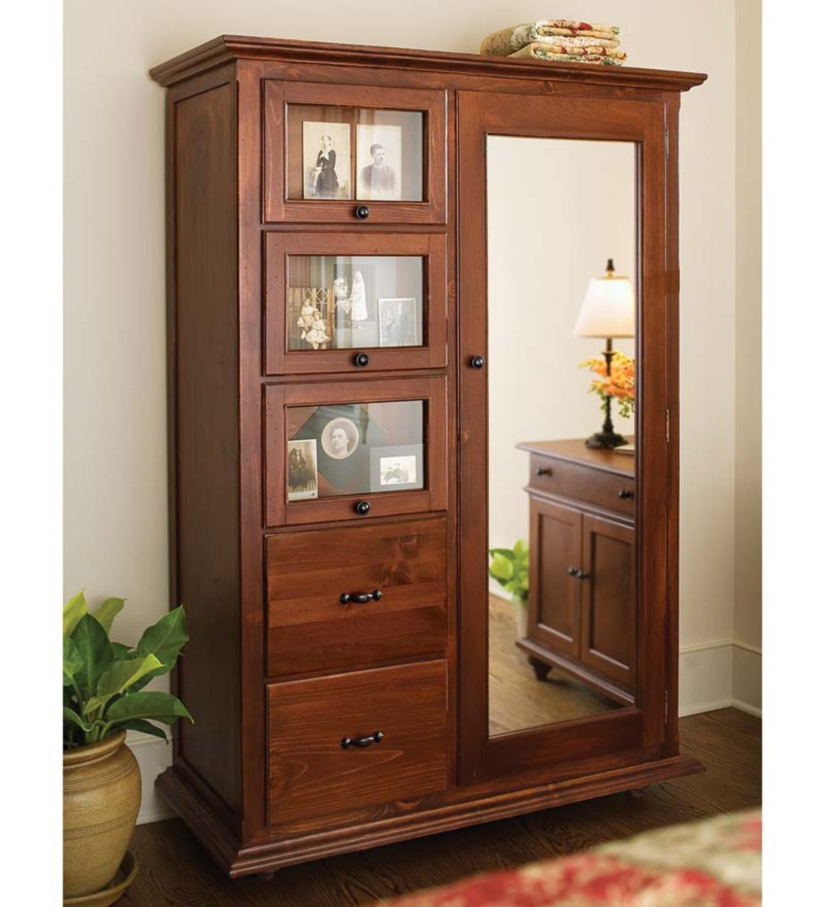 Tavern Armoire, Made In USA