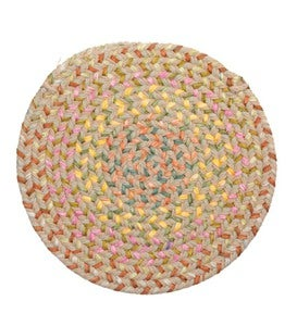 Indoor/Outdoor Braided Polypro Floral Garden Rug