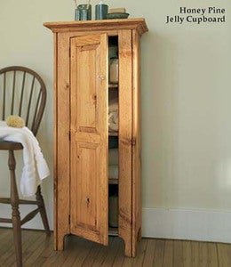 Jelly Cabinet   Antique Black