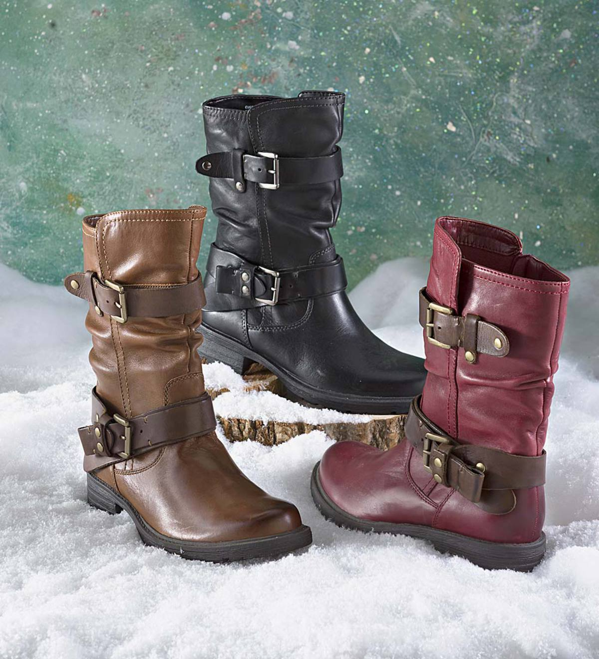 Earth Everwood Boot with Buckles
