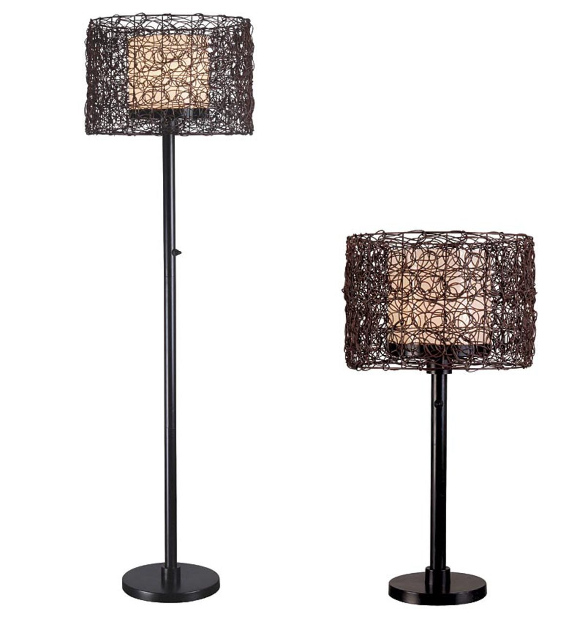 All-Weather Rattan Tanglewood Outdoor Lamps