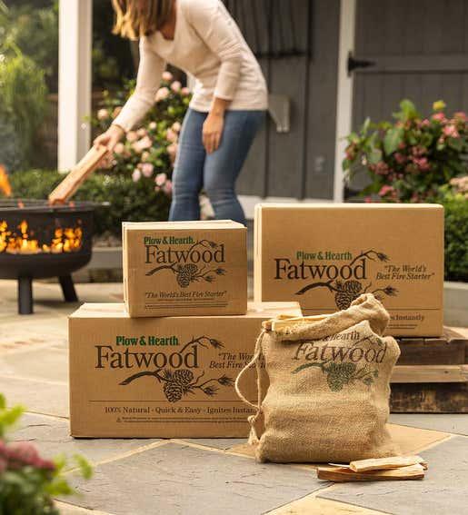 Image of Fatwood Box sizes