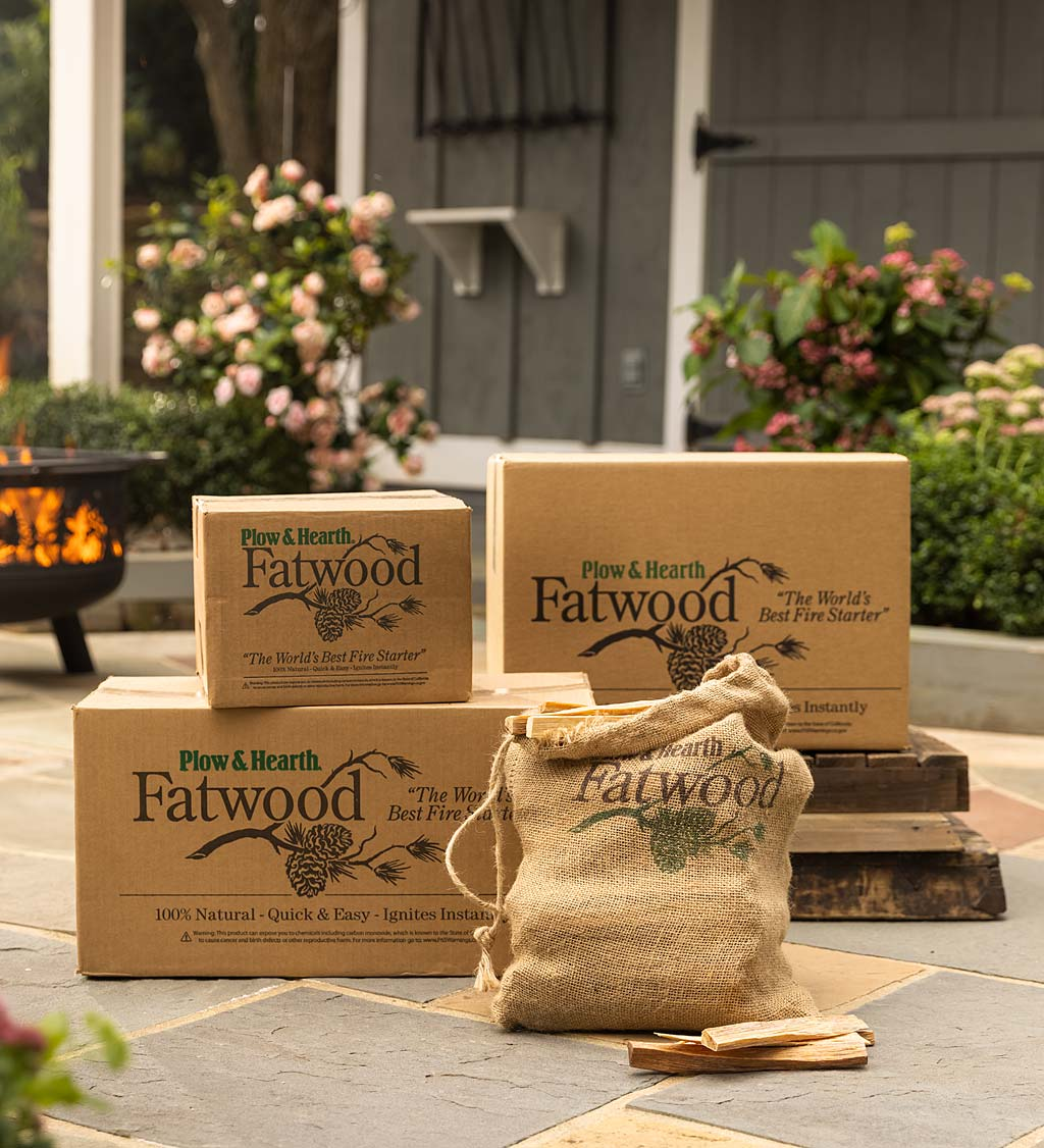 Fatwood & Firestarters
