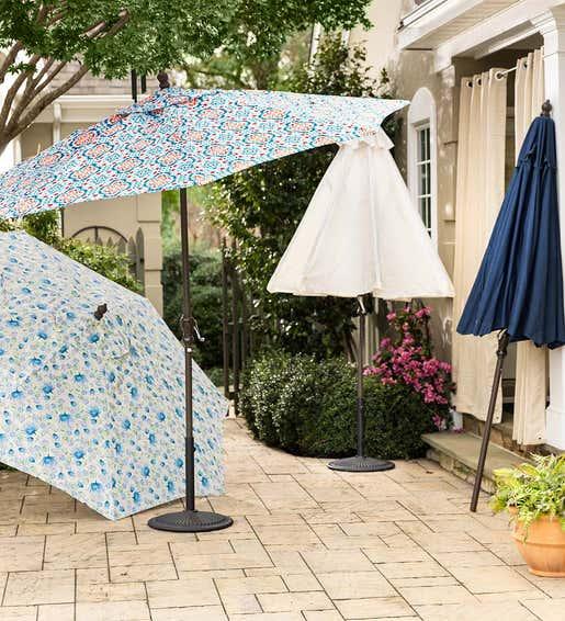 Patio Umbrellas. Shades & Umbrellas