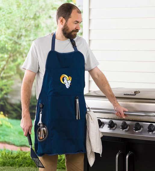 Image of NFL Team Pride Grilling Apron. Shop Gifts for Him