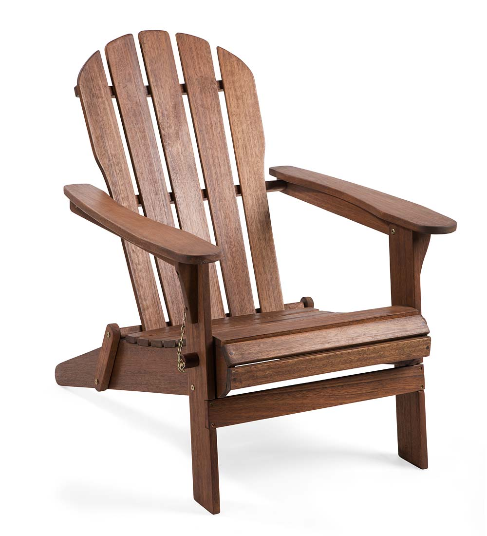 Outdoor Adirondack Chair - Made of FSC-Certified Eucalyptus Wood