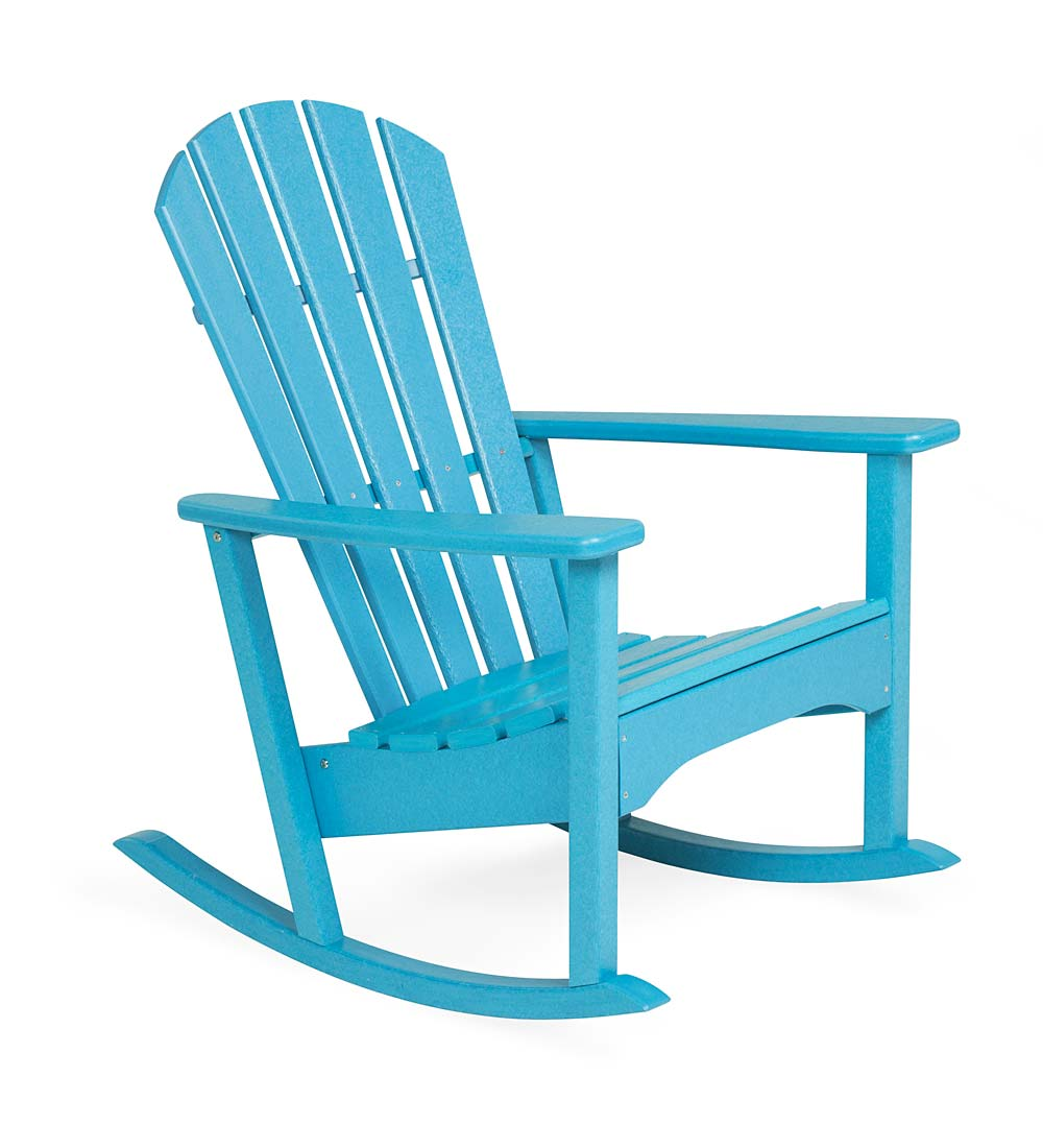 Surprising Polywood Outdoor Adirondack Rocker Aruba Plowhearth Pdpeps Interior Chair Design Pdpepsorg