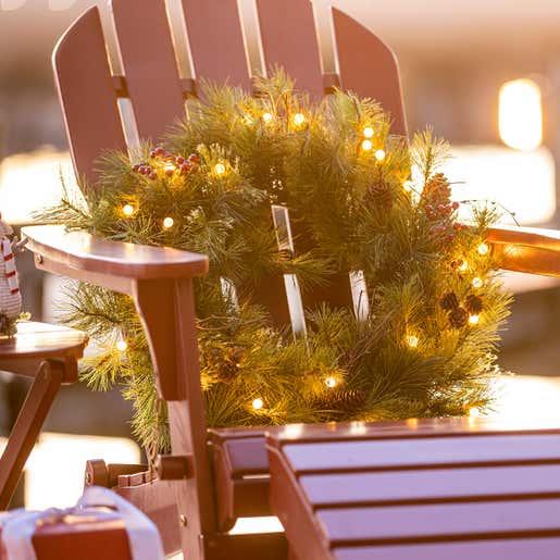 Image of Blueridge Lighted Wreath
