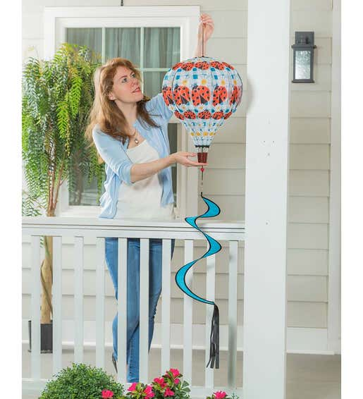 Image of Balloon Wind Spinner. Shop Gifts Under $30